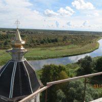 Восстановительные работы на Троицкой церкви в с. Поречье Бежецкого р-на Тверской обл.