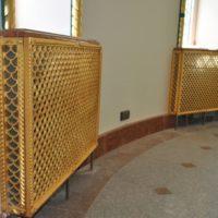 Декоративные решетки на радиаторы отопления. Литье из латуни. Золочение гальваническим способом